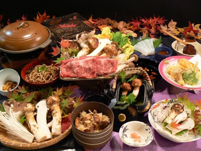 2020年9月5日「松茸料理」始まりました!